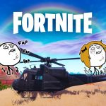 NEW FORTNITE UPDATE TO INCLUDE HELICOPTERS & OTHER COOL FEATURES