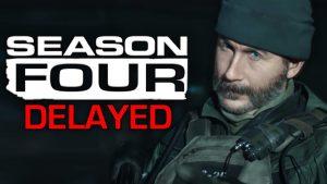 CoD Season 4 Delayed